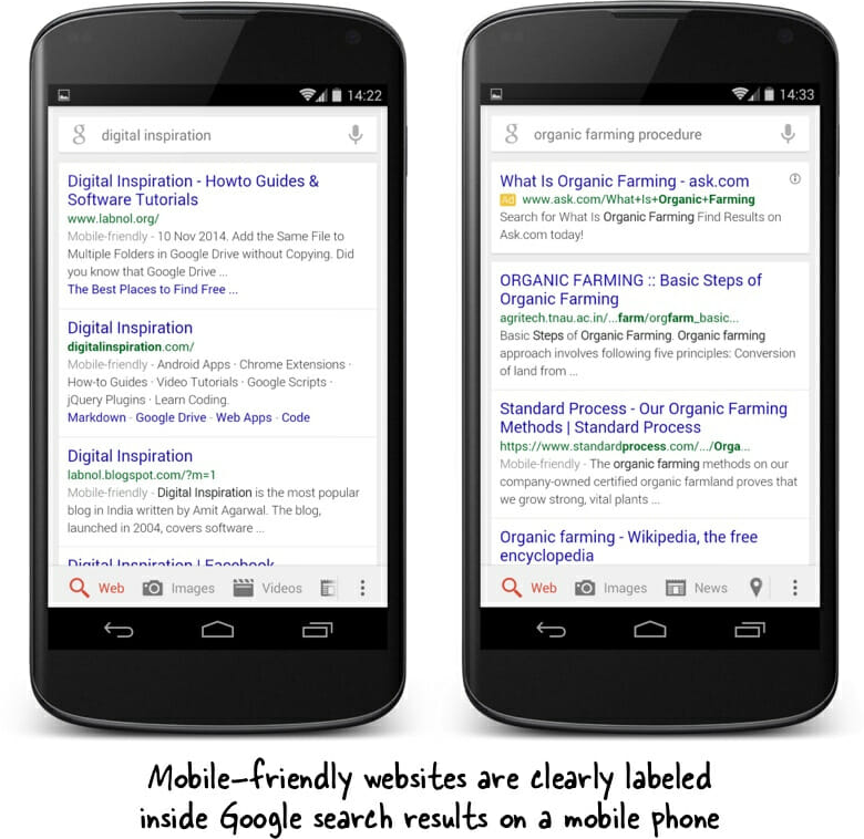 what is seo in content writing mobile friendly