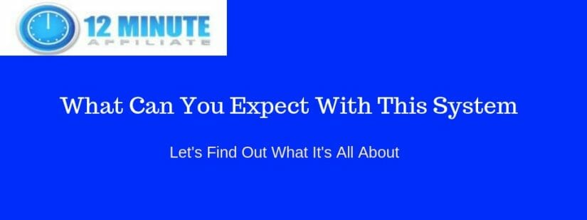 What is the 12 minute affiliate system