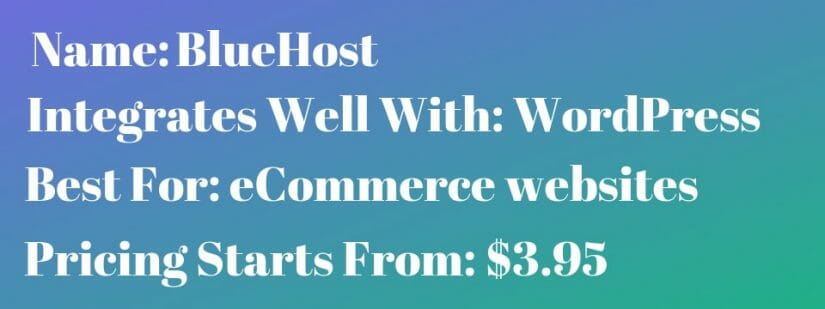 one of the best bluehost reviews