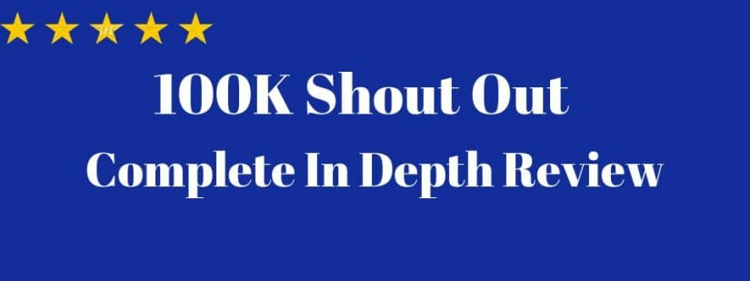 what is 100k shout out about