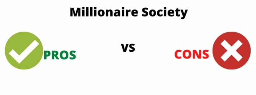 what is millionaire society about