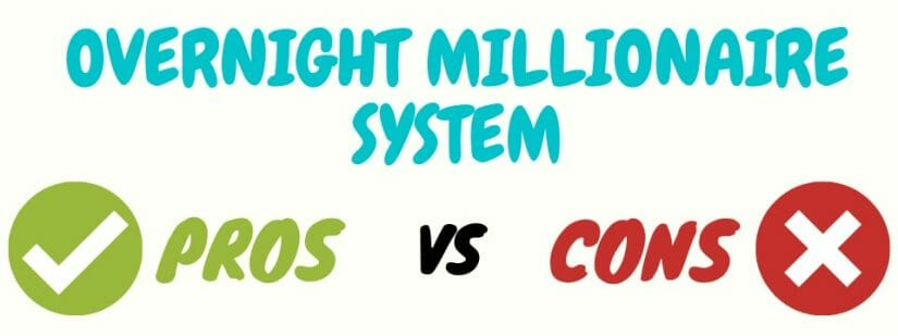 overnight millionaire system review pros cons