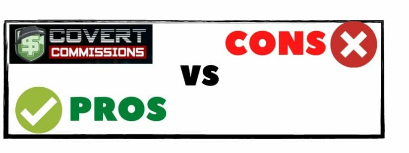 what is covert commissions about - pros and cons