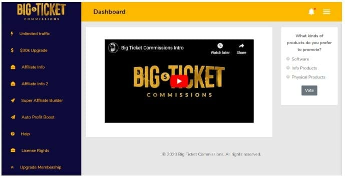big ticket commissions review inside