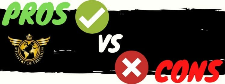 ministry of freedom review pros vs cons