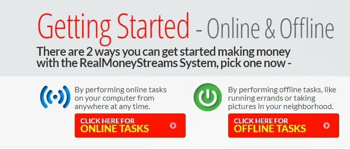 real money streams review inside getting started online & offline