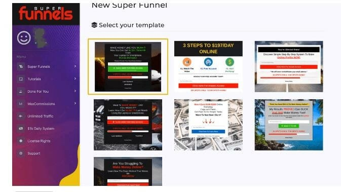 super funnels review whats inside