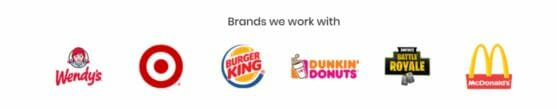 brands that work with referral pay its fake