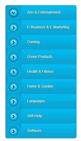 list of product categories to promote on clickbetter