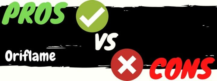 is oriflame a scam pros vs cons
