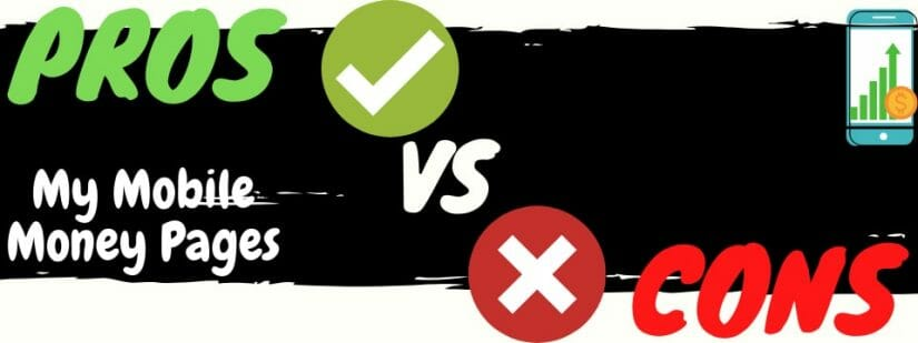 my mobile money pages review pros vs cons