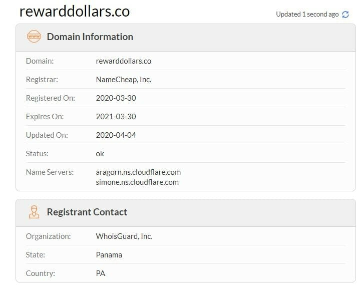 reward dollars review who is info