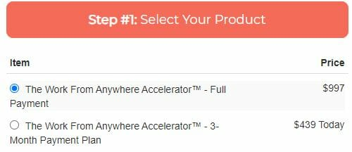 work from anywhere accelerator review cost