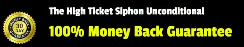 high ticket siphon review refund guarantee