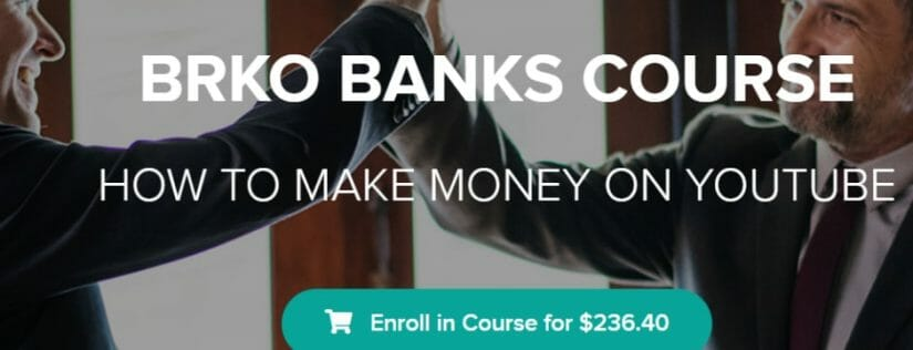 brko banks review youtube mastery course