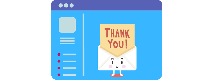 email startup incubator reviews thank you page