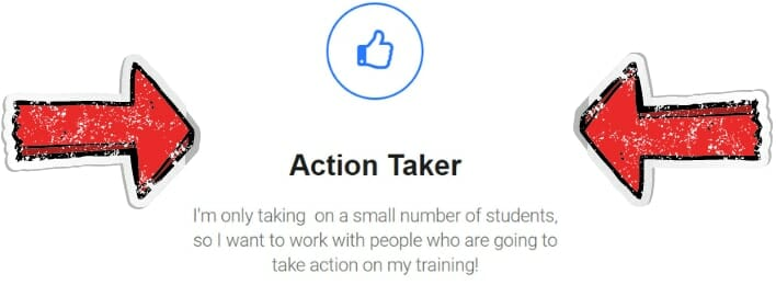 Liam James Kay's Master Natives Ads Course review action taker statement