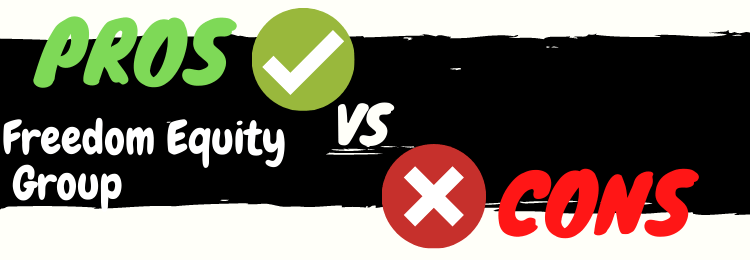 freedom equity group review pros vs cons