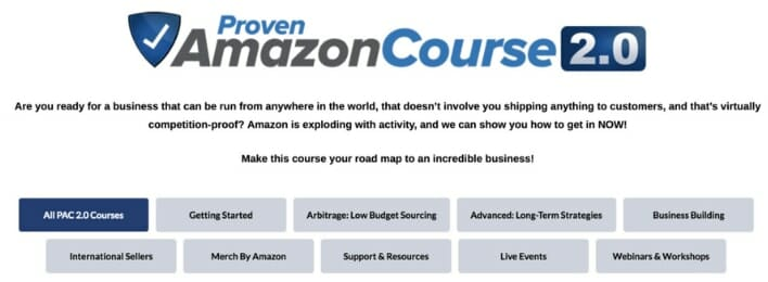 proven amazon course review inside