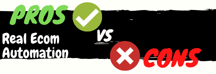 real ecom automation review pros vs cons