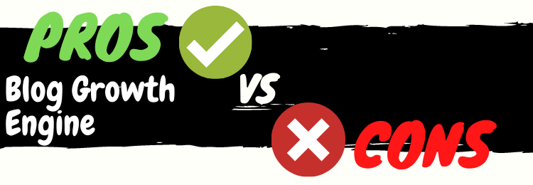 blog growth engine review pros vs cons